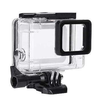 Techson - Carcasa Impermeable para cámara GoPro Hero 4, 3+: ...