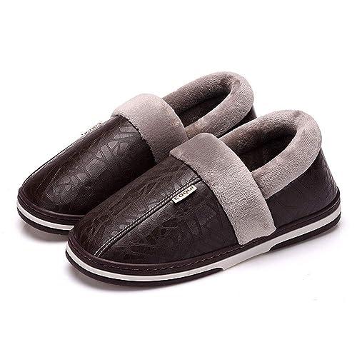 Morbida Piuma Di Pantofole Memoria Uomo Antinfortunistiche Casa Per Scarpe Cotone In 4tAqCw
