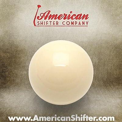 Americana Shifter 96060 marfil bola de billar Custom pomo de la ...