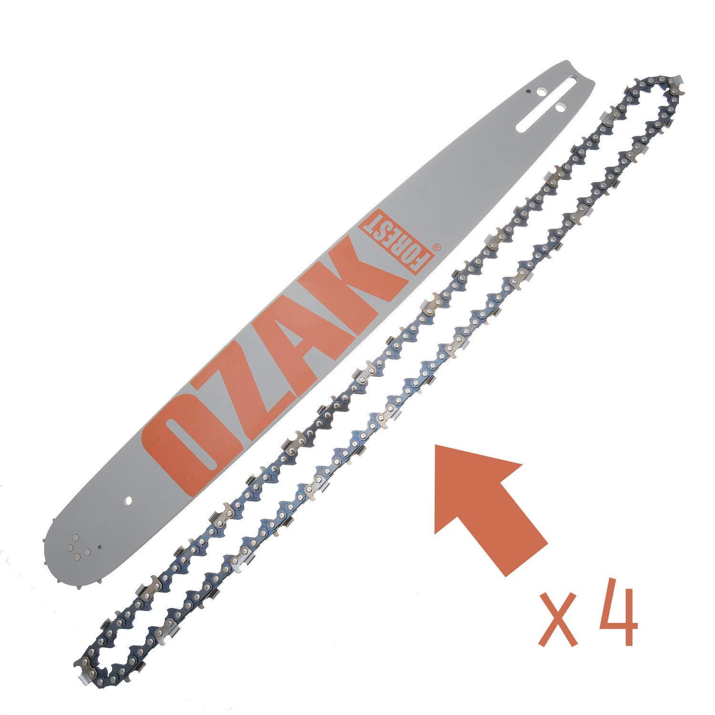 73/ COMBO Guide 50/cm 4/Ketten Pro 3//8/1,5/mm = Oregon 208SLGK095/ /72E
