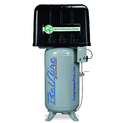 Amazon.com: BelAire QP338VE 208 - 230-Volt 5-HP 80-Gallon Vertical Electric Air Compressor: Home Improvement