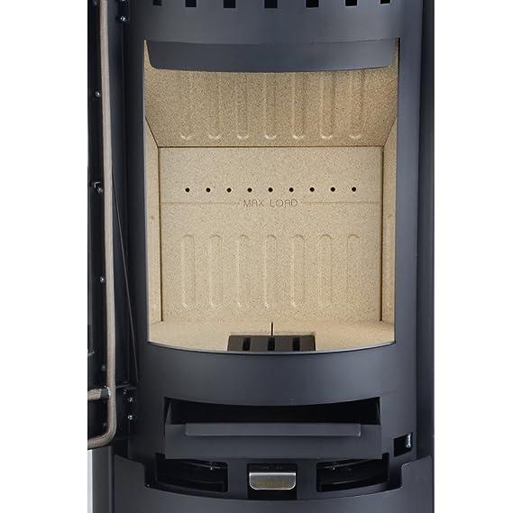 Estufa de leña Aduro 9-5 negro 6 kW horno de leña: Amazon.es: Bricolaje y herramientas