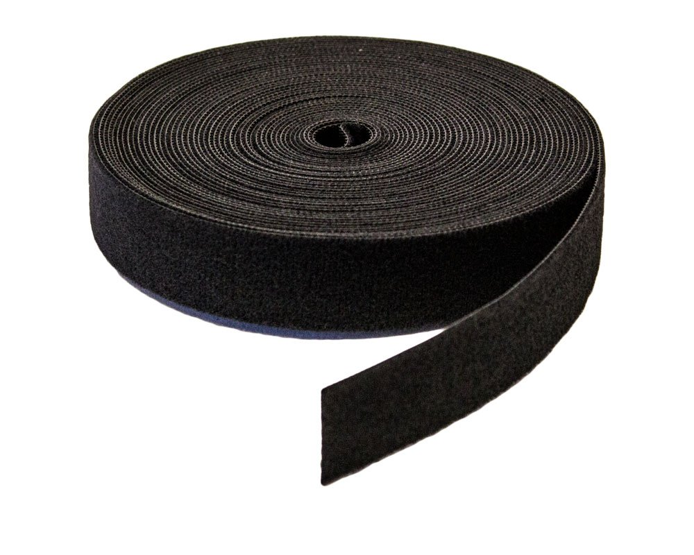 NavePoint 1'' Inch Roll Hook & Loop Reusable Cable Ties Wraps Straps - 10M 33ft 10-pack