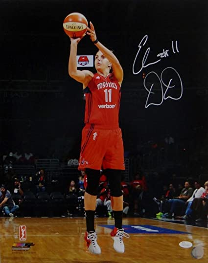 4a9c2a568fe7f Elena Delle Donne Autographed Mystics 16x20 Shooting PF Photo- W Auth   White - JSA Certified - Autographed Sports Photos at Amazon s Sports  Collectibles ...