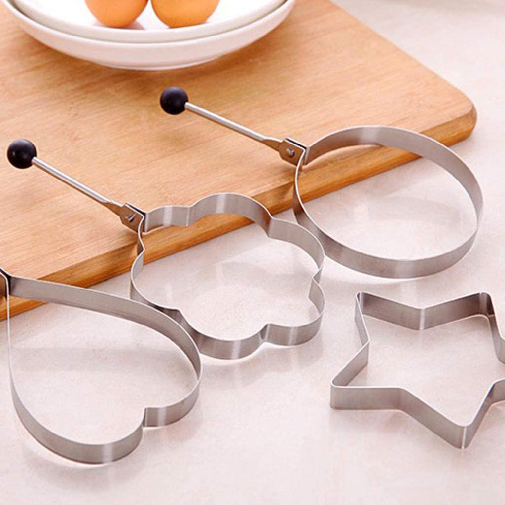 Cake Muffin Ring Snorda Stainless Steel Rgg Rings Fried Egg Mold Shaper Creative Kitchen Cooking Tool