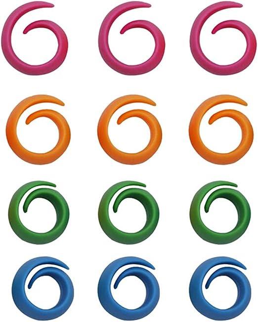 para evitar que los hilos se desenrollen y se enreden 12 unidades Juego de 12 bobinas de hilo para costura Artstore