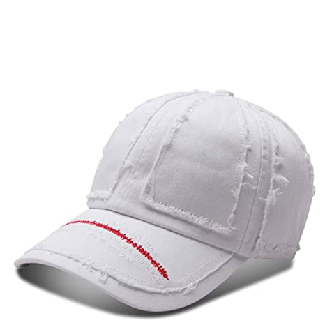 VISER Gorra de béisbol de algodón para Hombre, Mujer, Color sólido ...