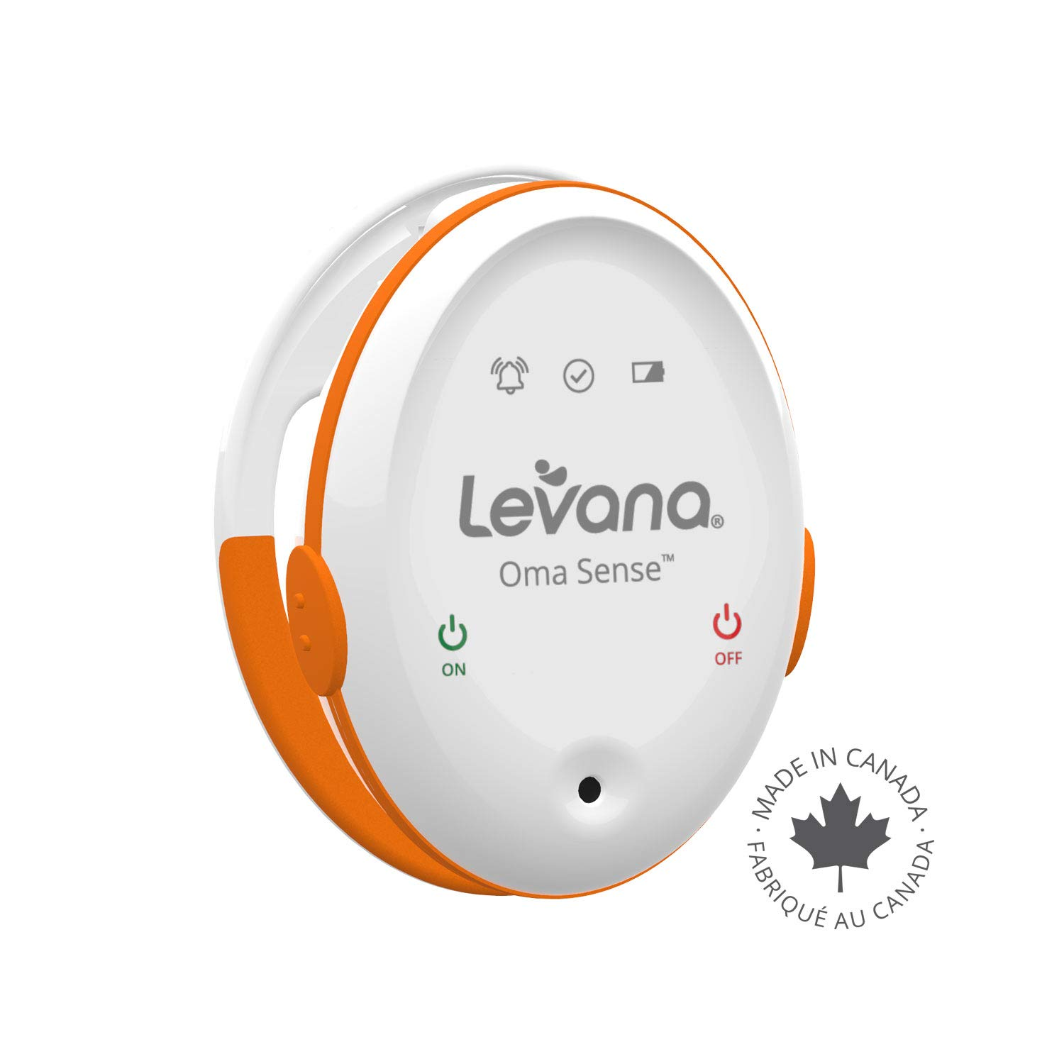 Levana Oma Sense Portable Baby Breathing Movement Monitor with Vibrations and Audible Alerts Designed to Stimulate Baby and Alert Parents by Levana (Image #8)