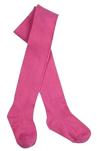 Girls Tights Plain Fine Knit Style Leggings Cotton Rich Newborn Baby 7 years