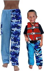 Paradise Towelwear Co. Towel Pants for Swimmers – Cotton Terry Towel Pants – Beach Coverup – Resort Wear – Swim wear