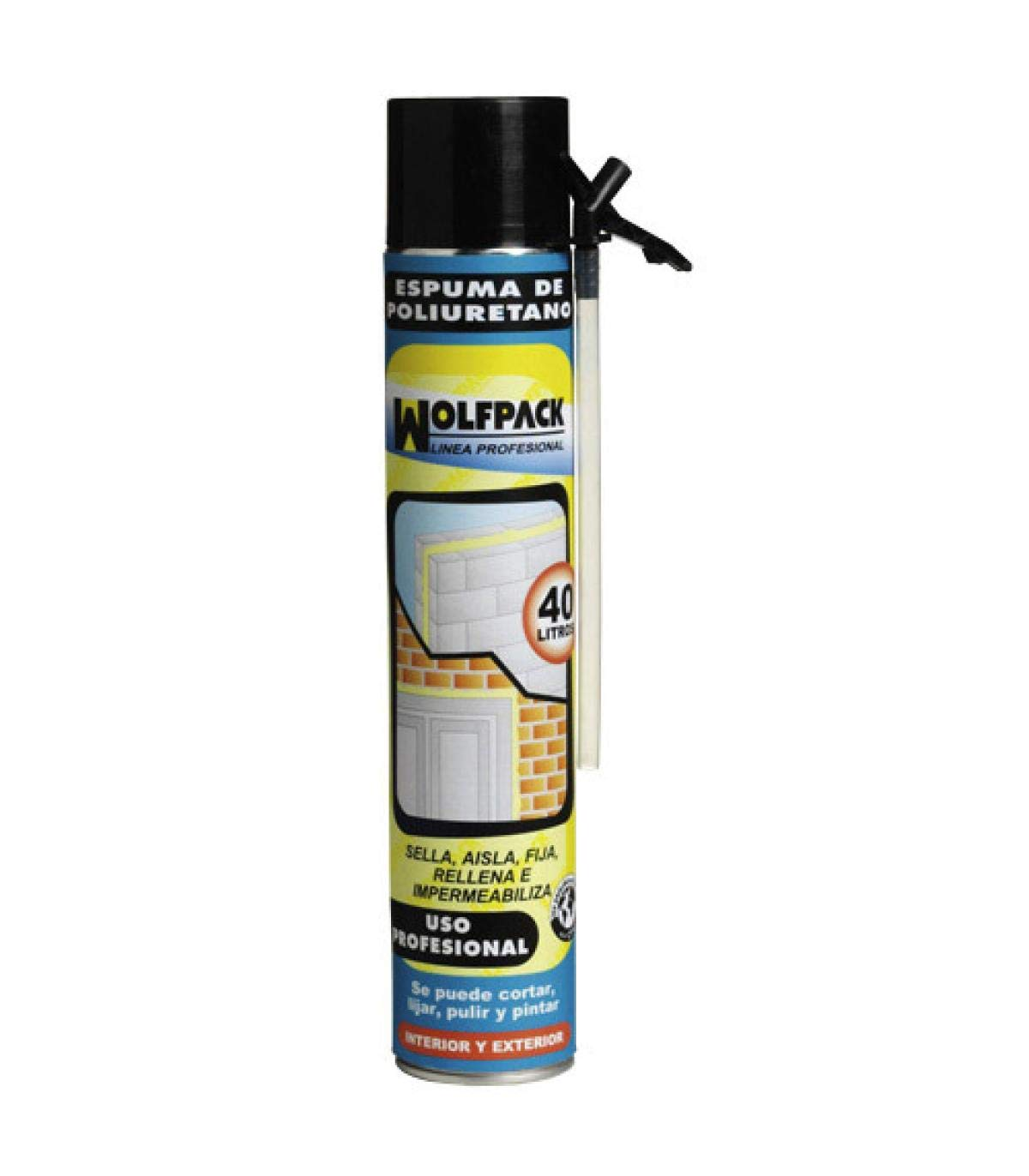 Espuma Poliuretano 750 ml. Con Canula: Amazon.es: Industria ...