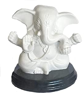 Bellaa 24207 Ganesh Statues Hindu Good Luck God 3 inch