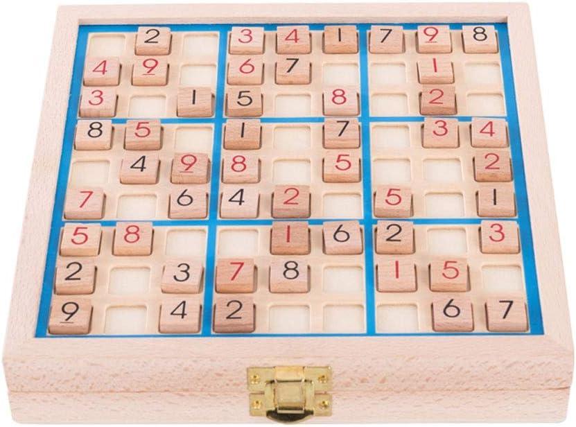 Yjdr Cuatro Seis Nueve Palacio Sudoku Juguete Educativo del Tablero de Damas Escalera de Formación de Juegos Digitales Pensamiento lógico Preescolar Juguete del Padre-Juego Interactivo del niño: Amazon.es: Hogar