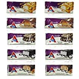 Atkins Endulge Bars Sampler Variety Pack 5 Different Flavors, A Total of 10 Bars