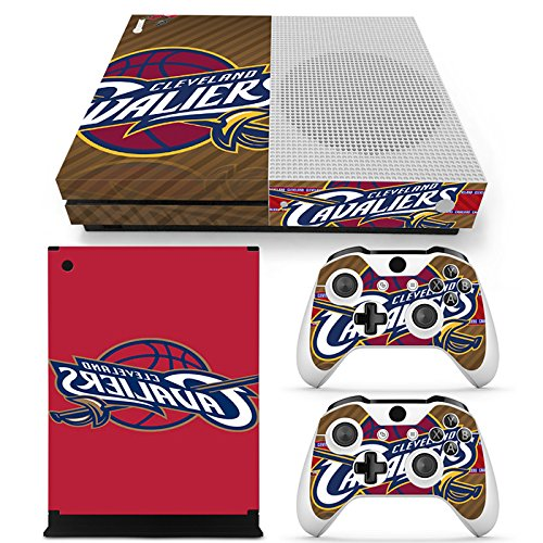 Price comparison product image GoldenDeal Xbox One S Console and Wireless Controller Skin Set - Basketball NBA - XboxOne S Vinyl