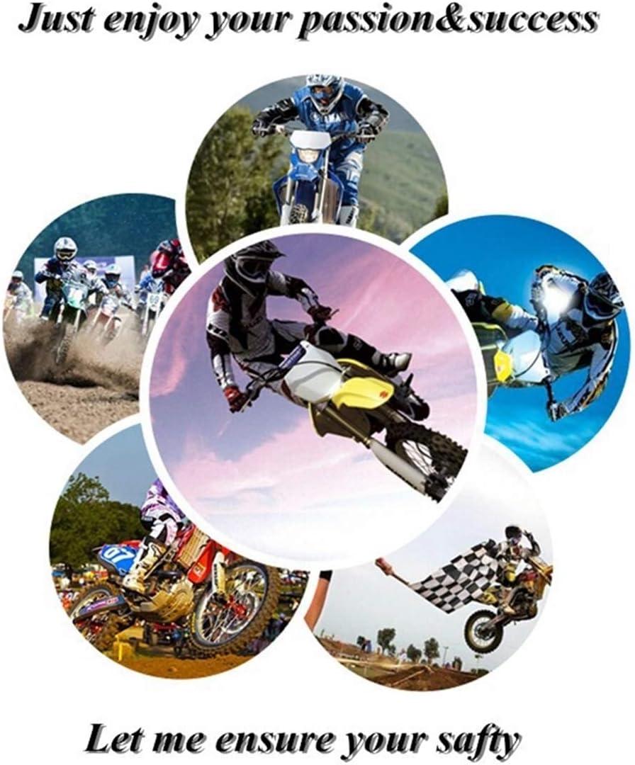 Desgaste Suave Y F/ácil De Limpiar Hombres Y Mujeres Chaleco De Bolsa De Aire Reflectante Liviano Se Adapta A Adultos LLCPRO Chaleco De Bolsa De Aire con Tira Reflectante para Motocross