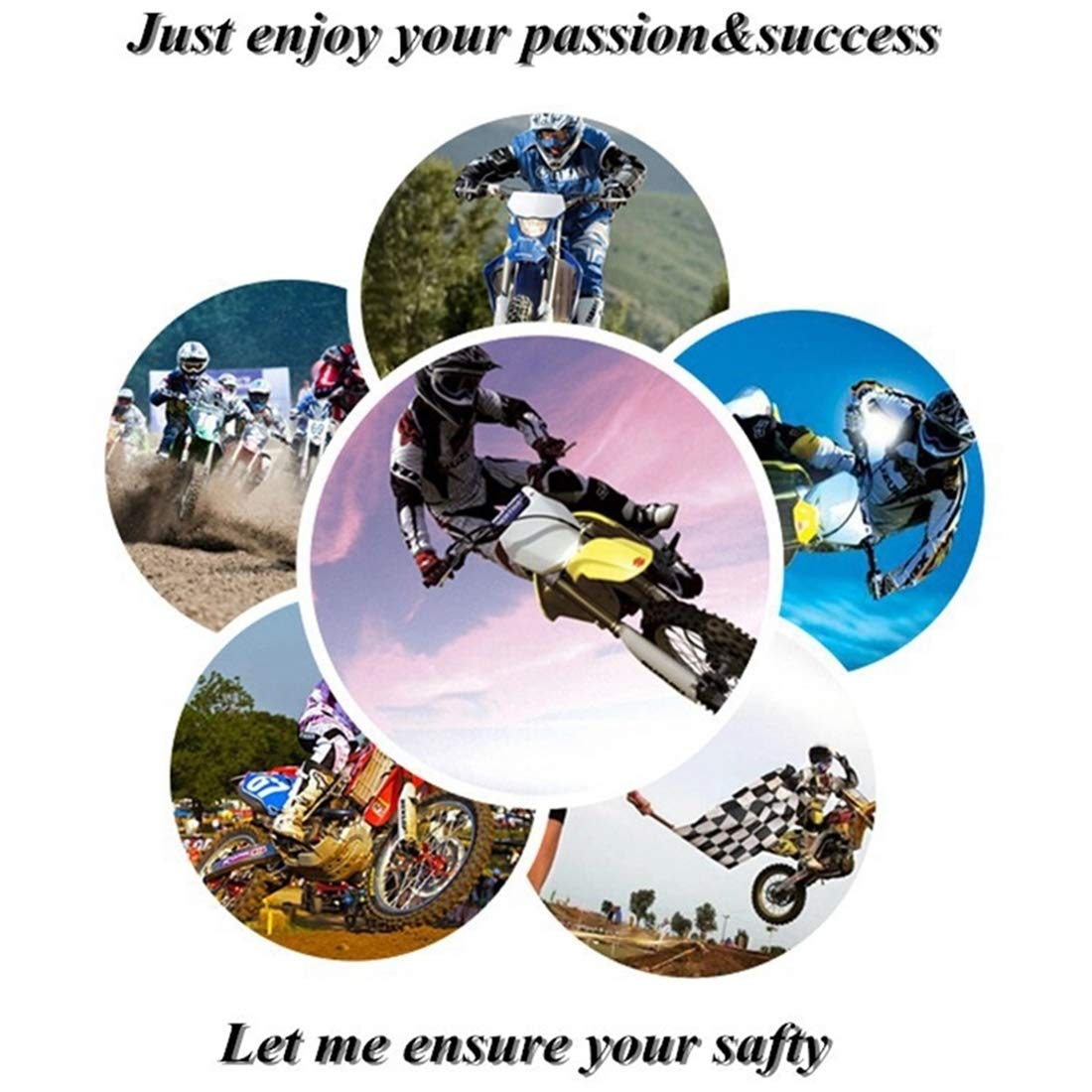 Hombres Y Mujeres Se Adapta A Adultos Desgaste Suave Y F/ácil De Limpiar Chaleco De Bolsa De Aire Reflectante Liviano LLCPRO Chaleco De Bolsa De Aire con Tira Reflectante para Motocross