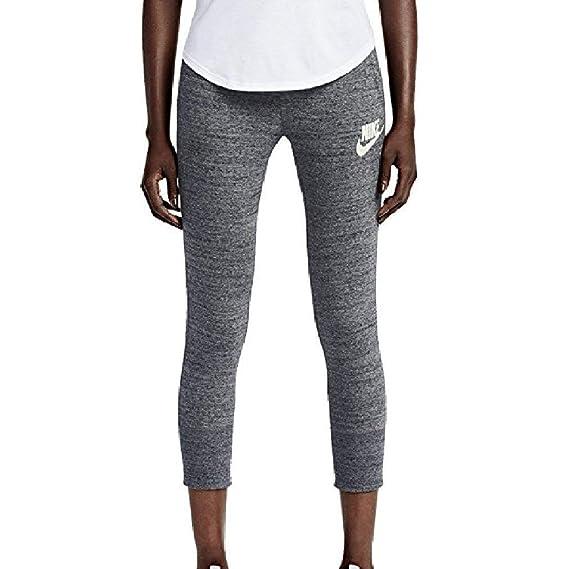 Nike Women's Gym Vintage Capris Sweatpants 813875 091 X
