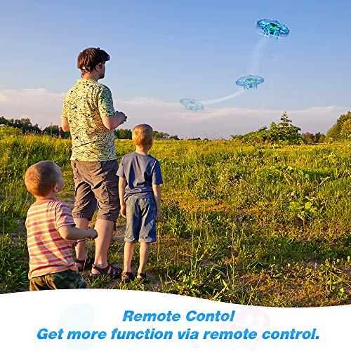 Outdoor Toys for Kids 6-12,OMWay Easter Toys Remote Control Drone,Yard Games for 7-14 Year Old Teen Boys Girls,UFO…