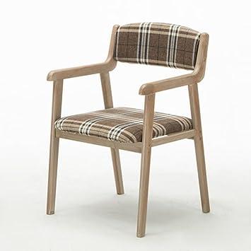 HAOJUN Moderner minimalistischer Retro Stuhl Stuhl des Stuhls des ...