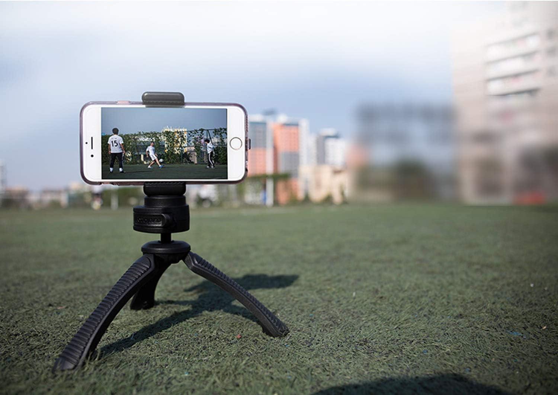 Color : Pink CJGXJZJ Mobile Phone Mini Micro Single SLR Camera Desktop Tripod Portable Tripod Self-Timer Bracket Maximum Load 1.5KG Multi-Color Optional