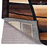 Non Slip Area Rug Pad - Fully Washable, Thick Rug Gripper for Firm Hold on Oriental, Traditional or Contemporary Rugs & Door Mats for any Hard Surface Floors - Wood, Tile or Cement (4' x 5')