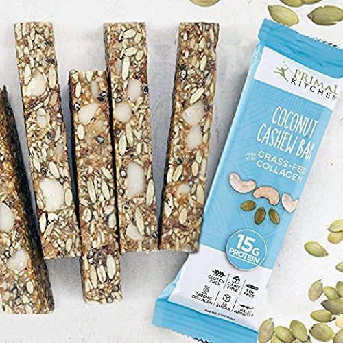 Primal Kitchen Grass-fed Collagen Protein Bars Variety Pack of 16 by Primal Kitchen (Image #6)