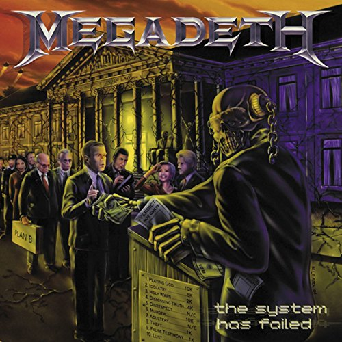CD : Megadeth - System Has Failed (United Kingdom - Import)