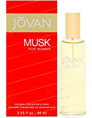 Coty Jovan Musk for Women Cologne Concentrate Spray, 3.25-Ounce/96ml for