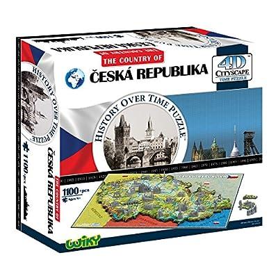 4dcityscape 40090 Repubblica Ceca Puzzle