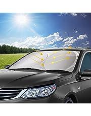 Parasol para Parabrisa, opamoo parasoles de Coche Delantero Parasol de Coche Auto Frontal Parabrisas Protector Resistente a los Rayos UV y a Luz de Sol -150x70cm