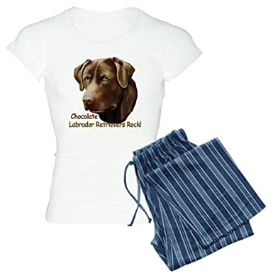 7155170463dc Amazon.com  CafePress - Chocolate Labs Rock - Womens Novelty Cotton ...