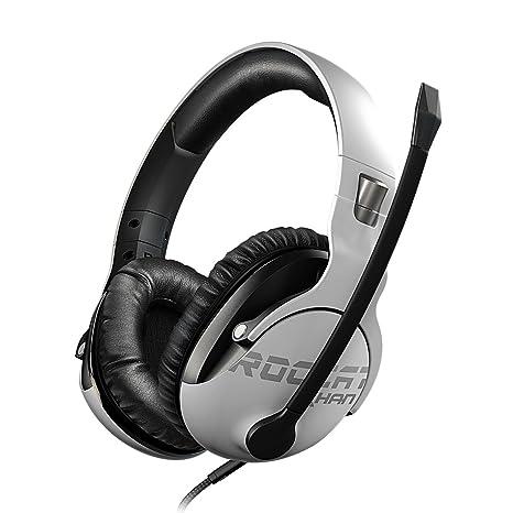 ROCCAT Khan Pro – Auriculares Gaming, Audio Hi-Res, dedicado a competiciones de