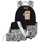 BLUBOON Teens Backpack Set Canvas Girls School Bags - Best Reviews Guide