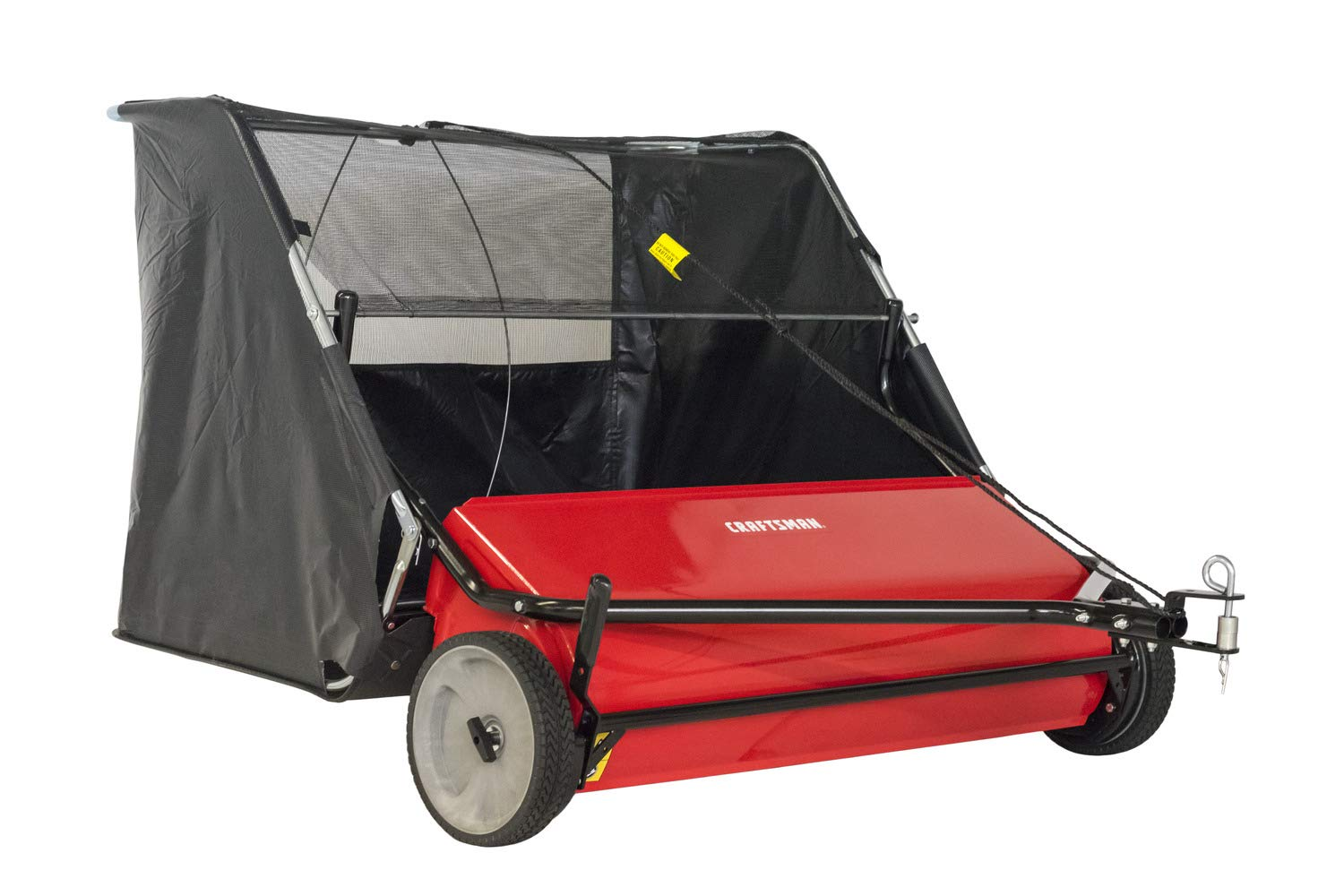 Craftsman CMXGZBF7124266 42 22-cu ft Hi-Speed Tow Lawn Sweeper, Red by Craftsman