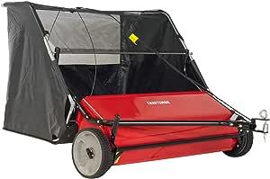 Craftsman CMXGZBF7124266 42 22-cu ft Tow Hi-Speed Lawn Sweeper, Width, Red