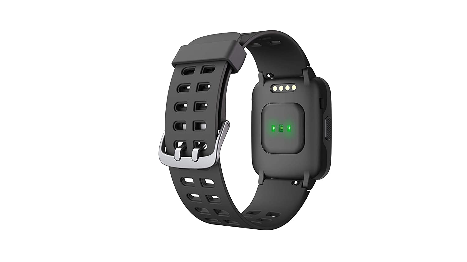 Leotec LESW53K Smartwatch MultiSports Fit 814 Negro: Amazon.es ...