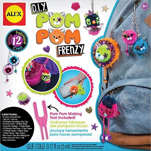 Own Pom Pom - ALEX Toys Craft DIY Pom Pom Frenzy
