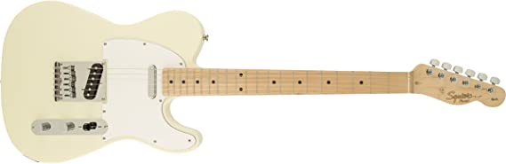 Guitarra eléctrica Rock Squier Fender Affinity Telecaster para zurdos