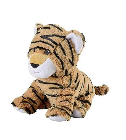 Warmies Tiger - Cojín térmico (relleno de lavanda), diseño ...