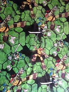 Disney Teenage Mutant Ninja Turtles Blanket Oversized Throw Large 62x90 inches
