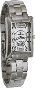 Christian Geen Analog Watch For Men - Stainless Steel , Silver - 9026Gbs-Bk