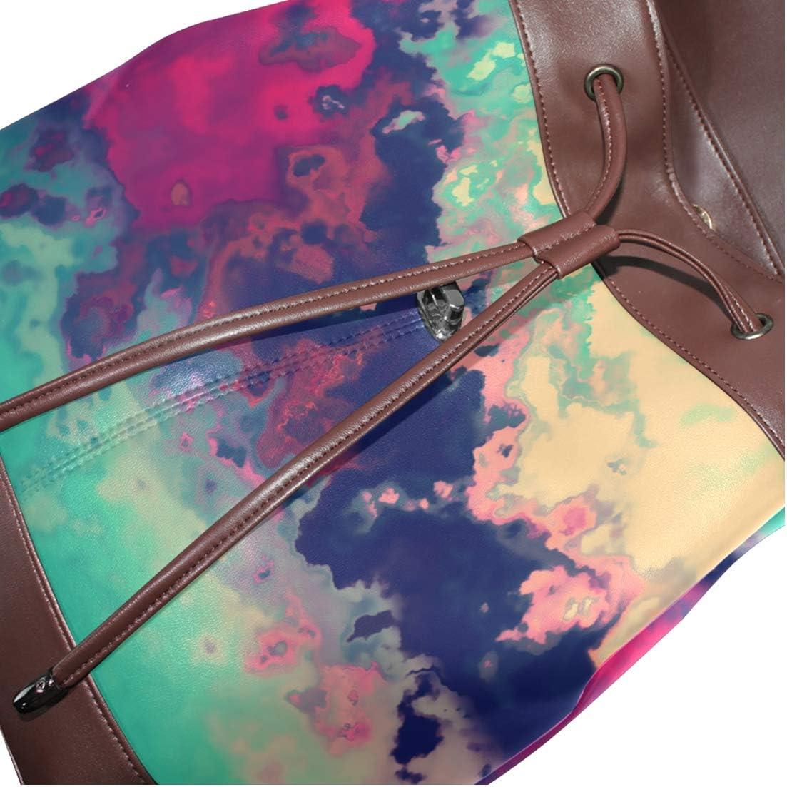 Storage Bag For Men Women Girls Boys Personalized Pattern Art Of Color Shopping Bag Travel Bag School Bag Backpack