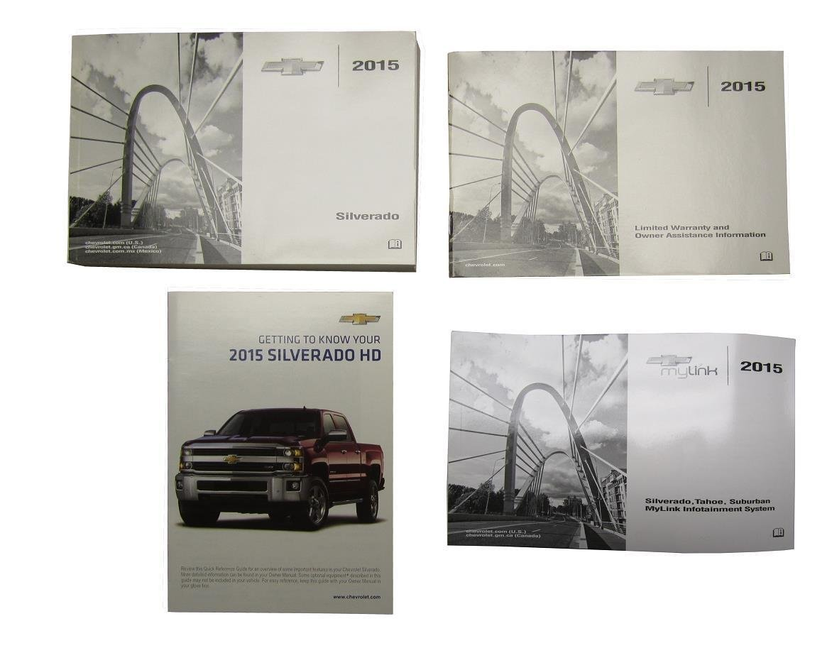 Factory Owner S Manual 2015 Chevrolet Silverado 2500 And