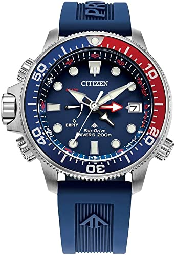 Amazon Com Citizen Watches Bn2038 01l Aqualand Blue One Size Watches
