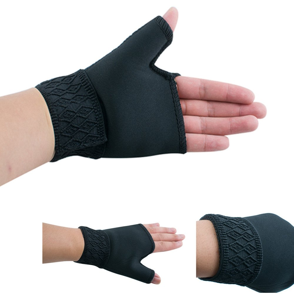 zinnor Arthritis Gloves Therapy Thumb Hand Wrist Support Compression Medical Carpal Tunnel Weak Aching Relief (1 Pair)