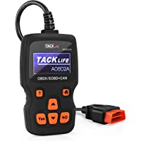 TACKLIFE AOBD2A Enhanced OBD II Vehicle Code Reader Automotive OBD2 Scanner (Black/Orange)