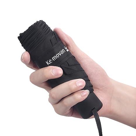 Ke.movan Travel Compact Umbrella Mini /& Lightweight for Backpack//Purse//Pocket Fits Adults /& Kids