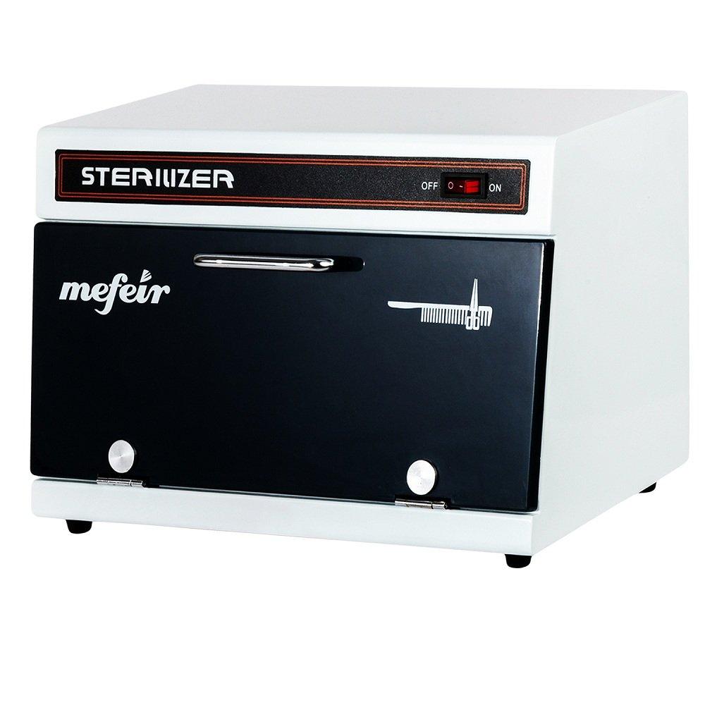 Mefeir Salon UV Light Sterilizer Cabinet, Tabletop Towel Ultraviolet Sanitizer, Professional Spa Disinfection Machine for Tattoo Massage Barber Nail Tool 11L NO Heating Function