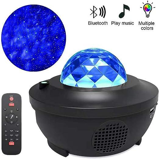 Star Night Light para niños, Ocean Wave Proyector Light Sky Music ...